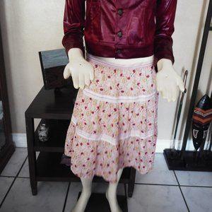 Marc Jacobs Peasant Print Skirt Size 12